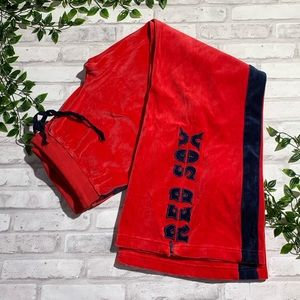 Nike Velour Red Sox Pants